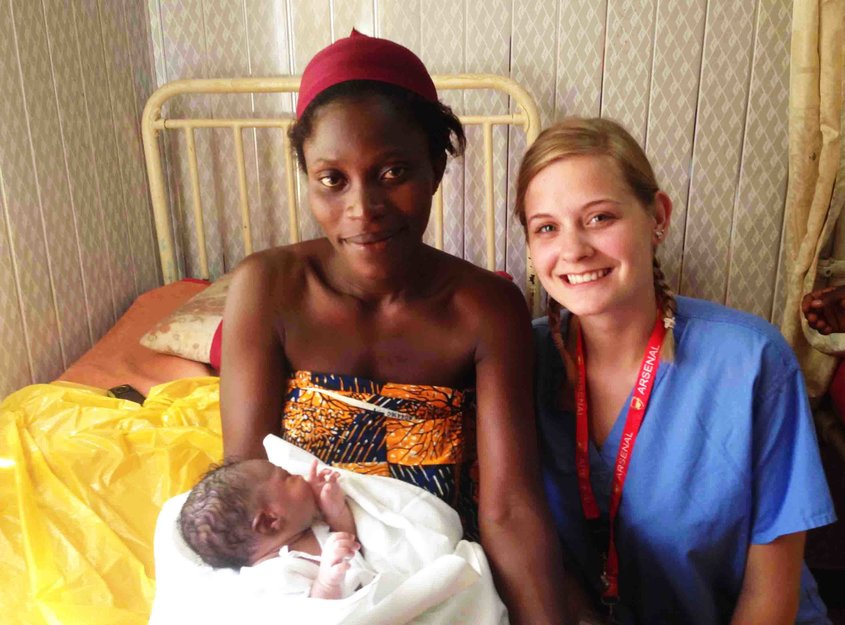 midwifery placements in ghana