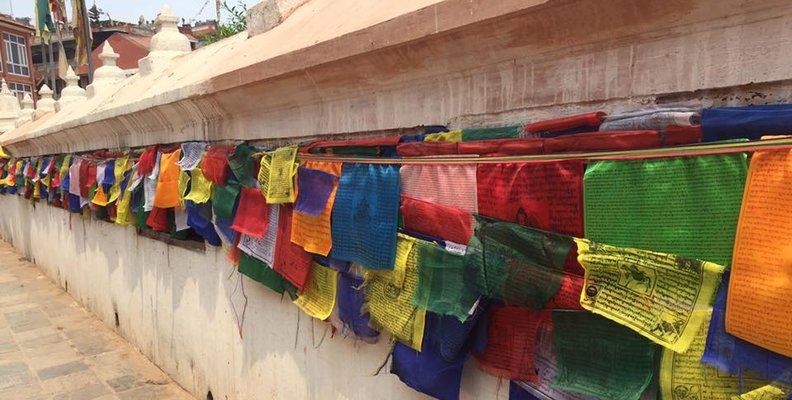 Blog Images - Navin Prayer flags