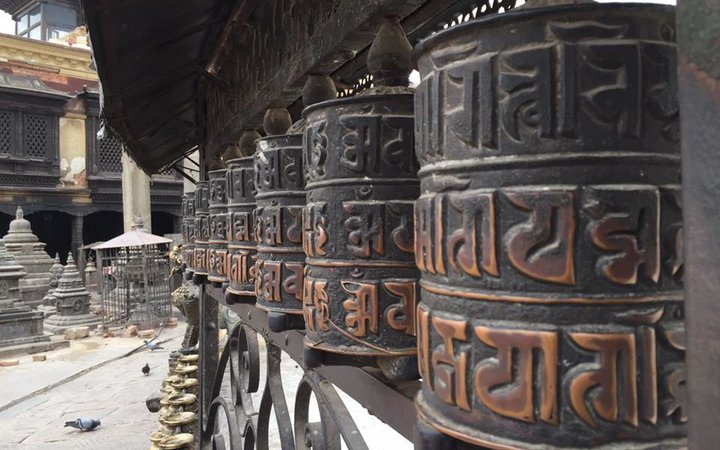 Blog Images - Navin Prayer wheel