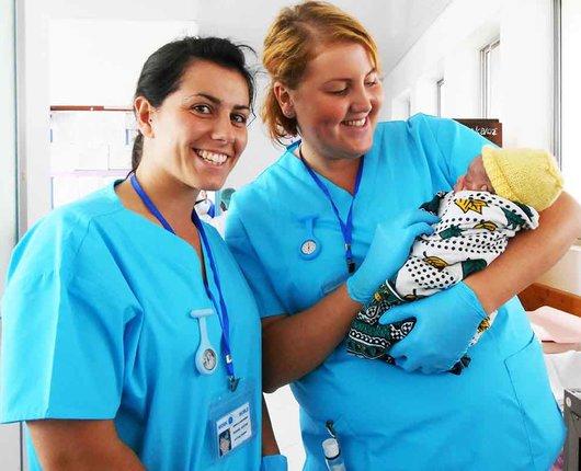 Midwifery Electives in Zambia